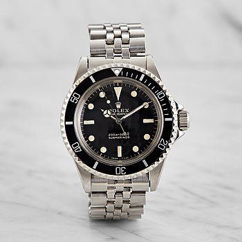 "73. ROLEX, Submariner, ""Meters first, Gilt dial""."