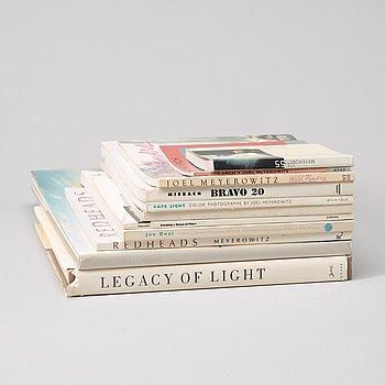 Fotoböcker, 10 st bla Joel Meyerowitz och Richard Misrach.