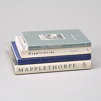 Fotoböcker, 4 st, Robert Mapplethorpe.