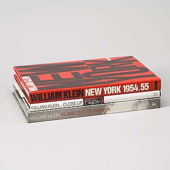 Fotoböcker 3 st. William Klein.