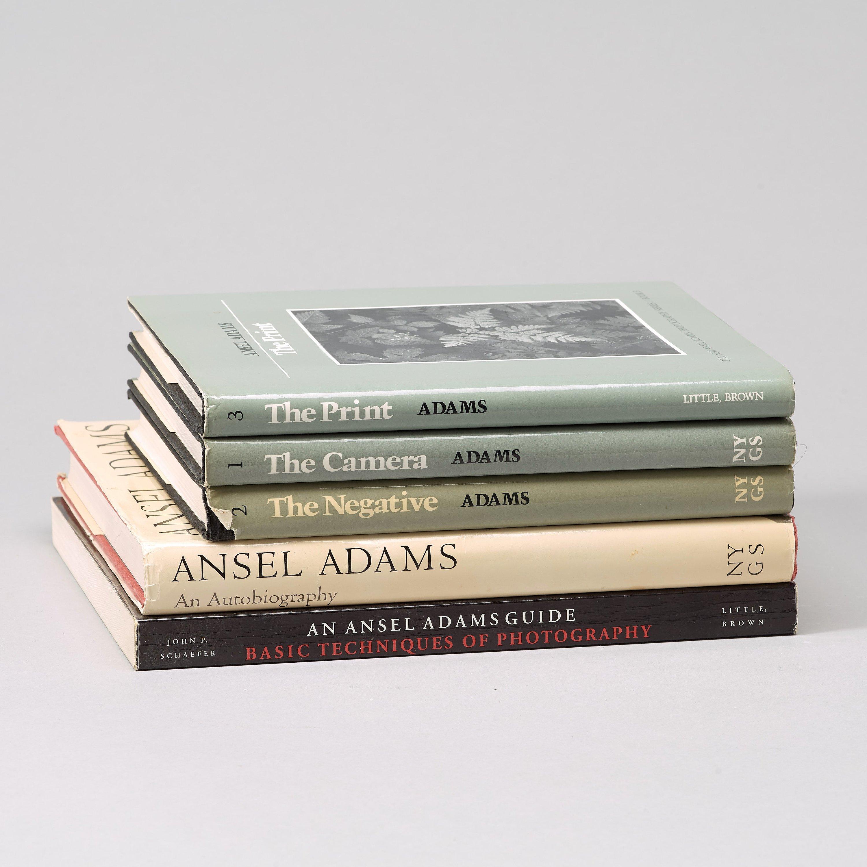 ANSEL ADAMS Photo Books 5 Ansel Adams