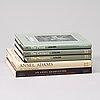 Fotoböcker 5 st. ansel adams
