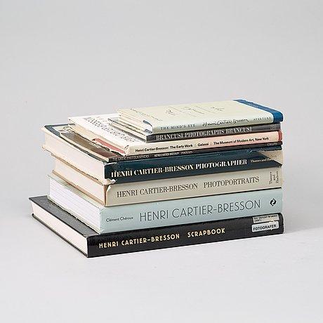Fotoböcker, 8 st, henri cartier bresson