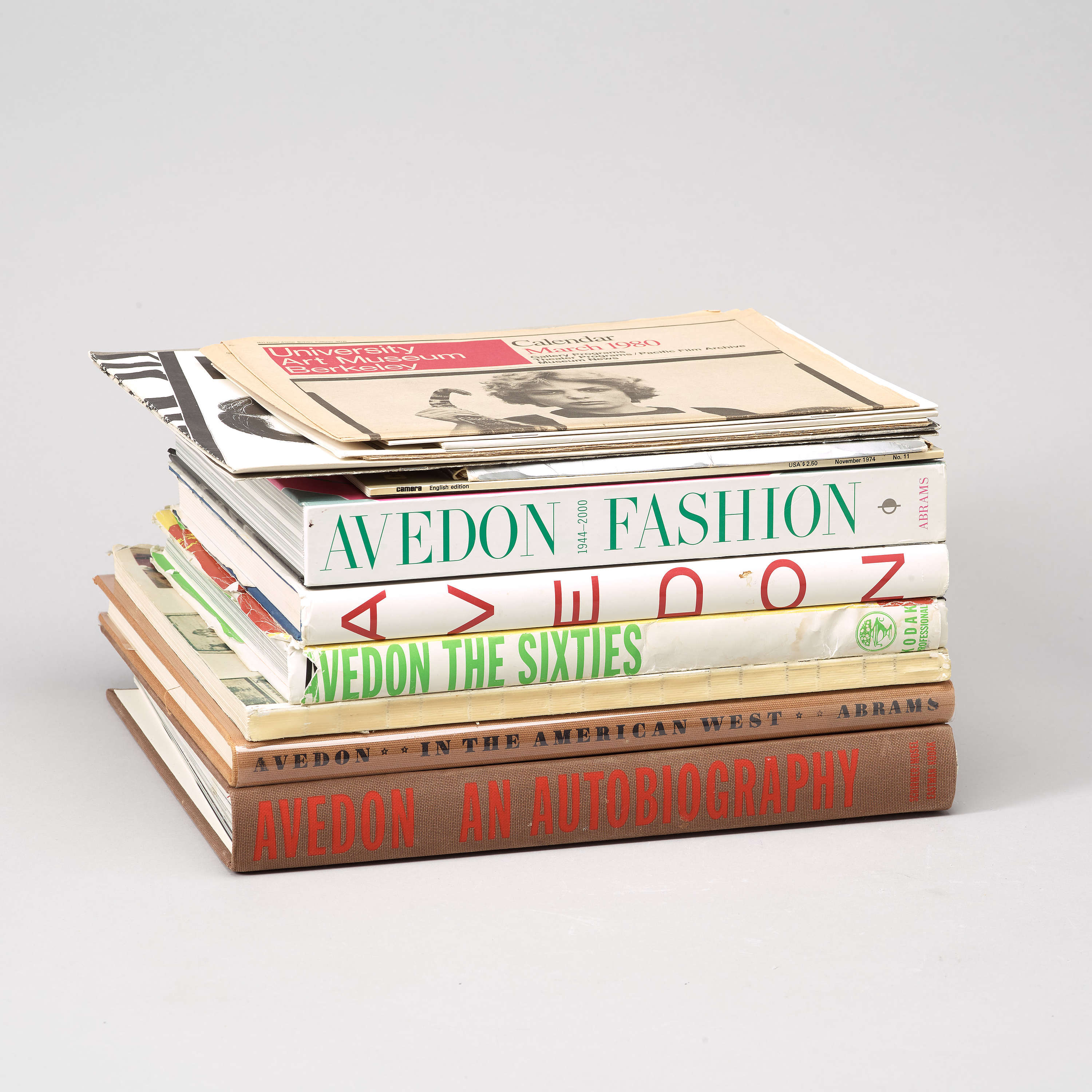 Outstanding Photo Books 6 Books And 9 Small Folders Richard Avedon Bukowskis Wiring Cloud Hisonuggs Outletorg