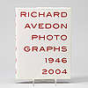 Photo books, 6, books and 9 small folders, richard avedon.