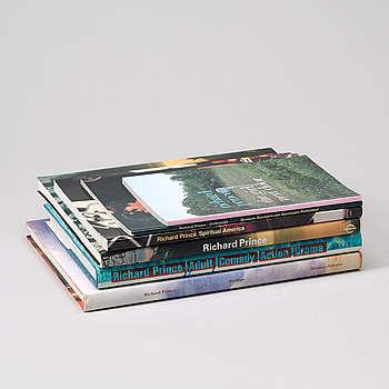 Fotoböcker, 6 st, Richard Prince.