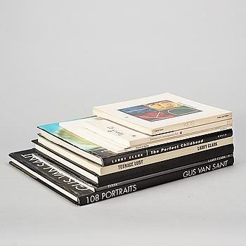 Fotoböcker 9 st, Larry Clark och Gus Van Sant.