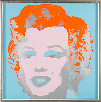 ANDY WARHOL After, ANDY WARHOL, after, silk screen, edited by Sunday B. Morning.
