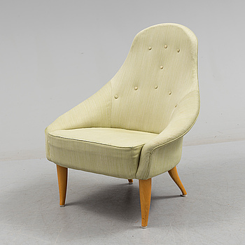 KERSTIN HÖRLIN-HOLMQUIST, A mid 20th century 'Lilla Eva'arm chair by Kerstin Hörlin-Holmquist.