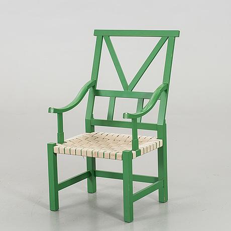 John kandell, karmstol, 1900-talets andra hälft.