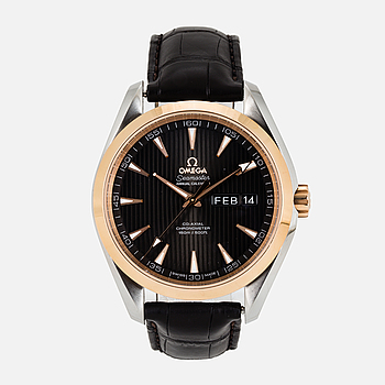 OMEGA, Seamaster (150m/500ft), Aqua Terra 150M, Annual Calendar, Chronometer, armbandsur, 43 mm.