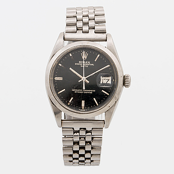 ROLEX, Oyster Perpetual Date, armbandsur, 34 mm,