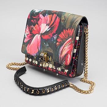 "ROBERTO CAVALLI, ""Floral Painted Shoulder Bag, Hera"","