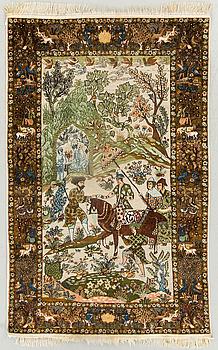 MATTA sannolikt pakistansk semiantik, ca 215 x 136 cm.