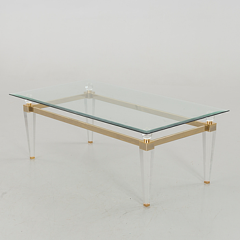 A COFFEE TABLE FORM THE SECOND HALF OF 20TH CENTURY,