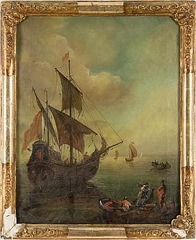 HOLLÄNDSK SKOLA, 1700-tal. Olja på duk.