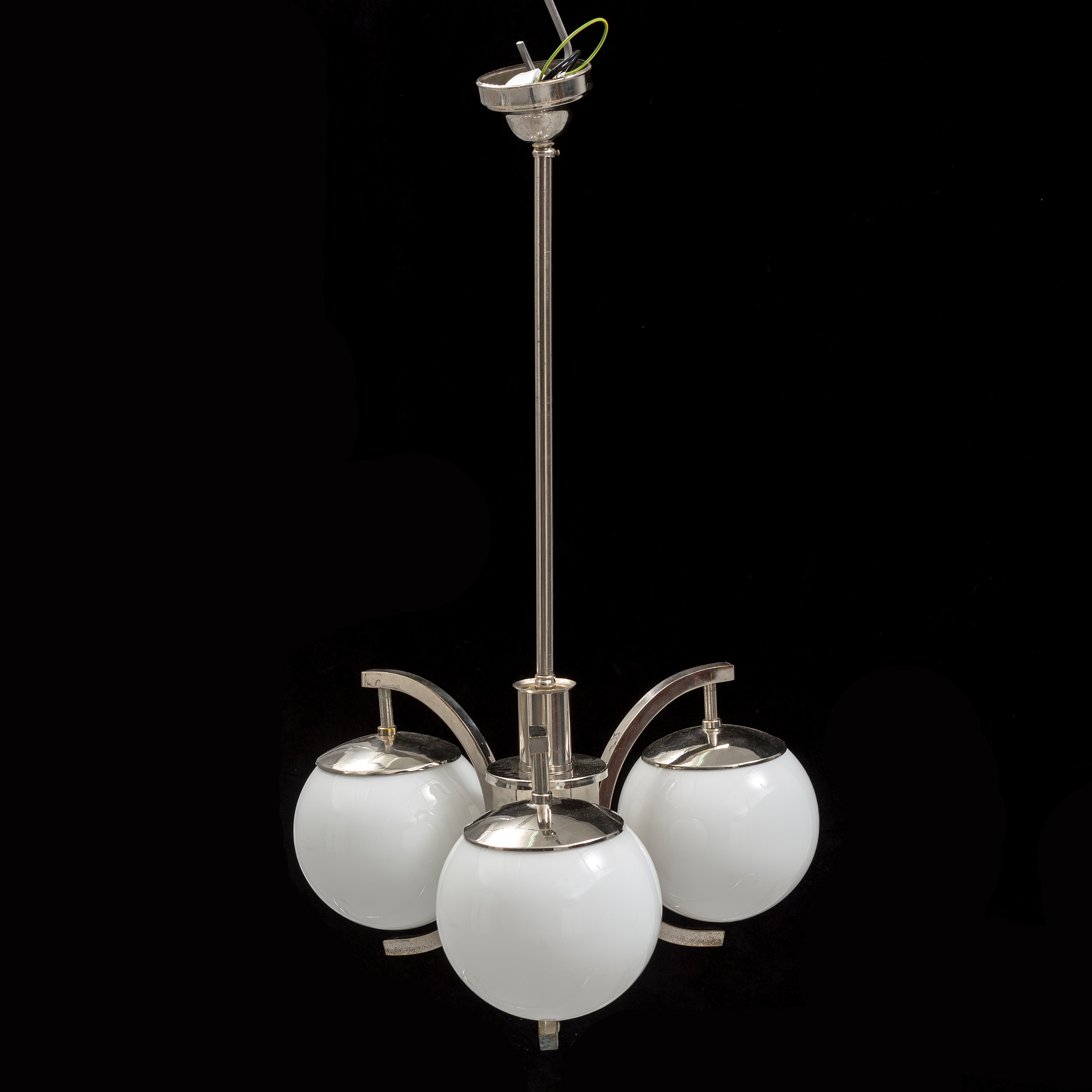 lights modernism french lighting glass art deco ceiling light items img geometric frosted with ceilings