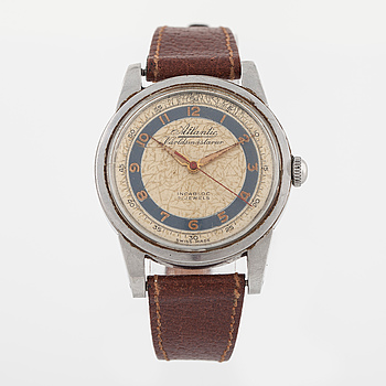 ATLANTIC, Världsmästarur, armbandsur, 36 mm.