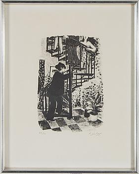 LENNART JIRLOW, litografi, signerad och numrerad 22/60.