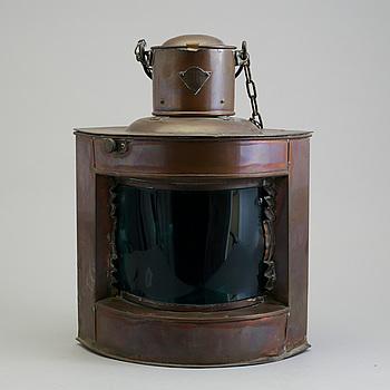SKEPPSLYKTA, koppar, tidigt 1900-tal.