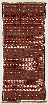 MATTA Kilim Samarkand semiantik ca  281 x 129 cm.