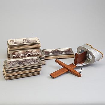 STEREOSKOP, Underwood & Underwood, New York, USA, tidigt 1900-tal.