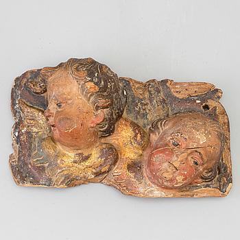 DEKORELEMENT, barock, 1600/1700-tal.
