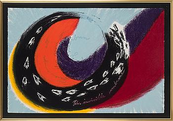 OLLE BONNIER, färglitografi, signerad och numrerad 7/50 med blyerts.