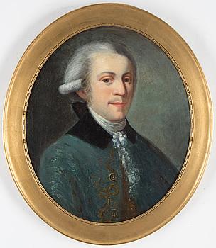 OKÄND KONSTNÄR, 1800-TAL. olja på duk, ej signerad.