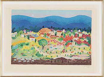 LENNART JIRLOW, Färglitografi, signerad och numrerad 27/310.
