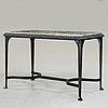"Folke bensow, a cast iron table ""trädgårdsmöbeln näfverqvarns n:r 10"" by näfveqvarns bruk."