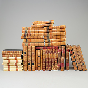 40 books, first half of the 20th century.