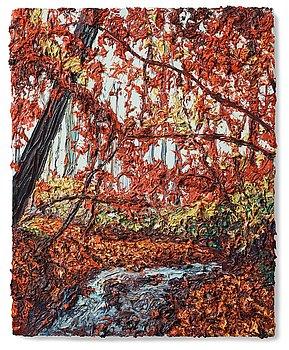 "138. Robert Terry, ""Red Maple Creek""."