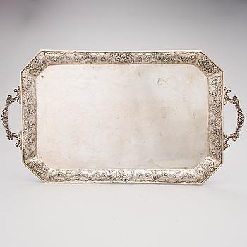BRICKA, silver, Tyskland, 1800-talets slut.