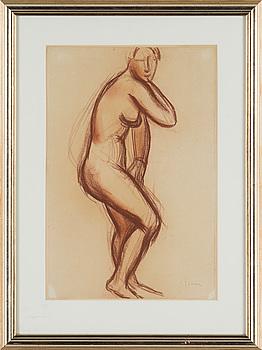 ISAAC GRÜNEWALD, ISAAC GRÜNEWALD, drawing, signed Isaac.