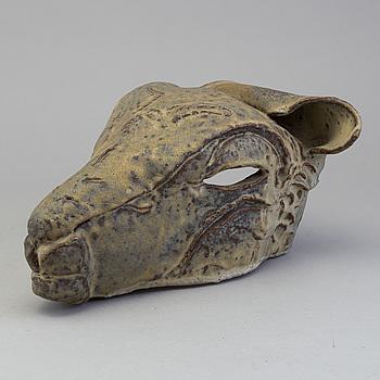 HERTHA HILLFON, skulptur, keramik, signerad.