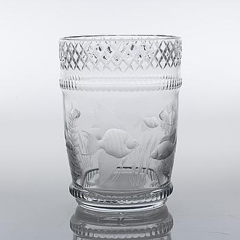 VAS, glas, omkring 1900-talets mitt.
