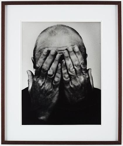 Christer strömholm, självporträtt, 1975-76.