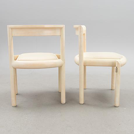 Raili & reima pietilÄ, tuoleja, 4 kpl, asko 1986.