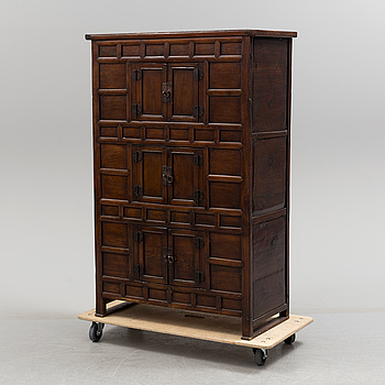 A 20th century Chinese cabinet.