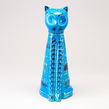 Aldo londi, a rimini blu ceramic sculpture from bitossi, italy,