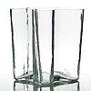 Alvar aalto, a clear glass vase, iittala, finland 1950-60´s, model 3031.
