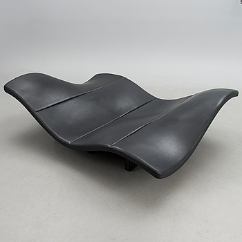 "ERNST & JENSEN, a ""EJ 142 Waves sofa"" for Erik Jørgensen, Denmark 1998."