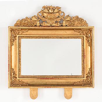 EMPIRE, A first half of the 19th century empire mirror.