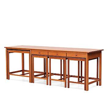 229. John Kandell, sideboard, 5 delar, utfört av snickarmästare David Sjölinder, Stockholm ca 1949.