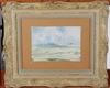 Ollers, edvin. akvarell. sign o dat 1947.