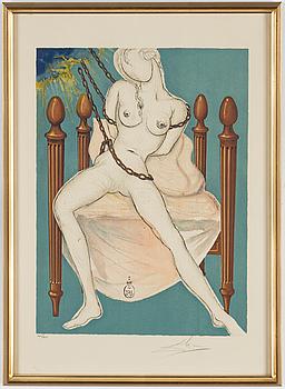 SALVADOR DALÍ, färglitografi 1969, signerad och numrerad 160/160.