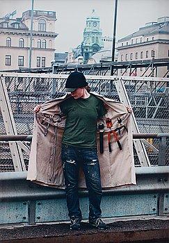 "152. KLARA LIDÉN, ""Self Portrait with Keys to the City"", 2005."