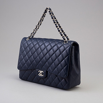 "VÄSKA, ""Jumbo Single Flap Bag"", Chanel, 2009-2010."