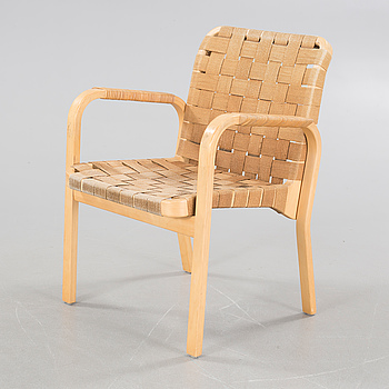 A model 45 armchair, designed by Alvar Aalto, Artek, 20th century.